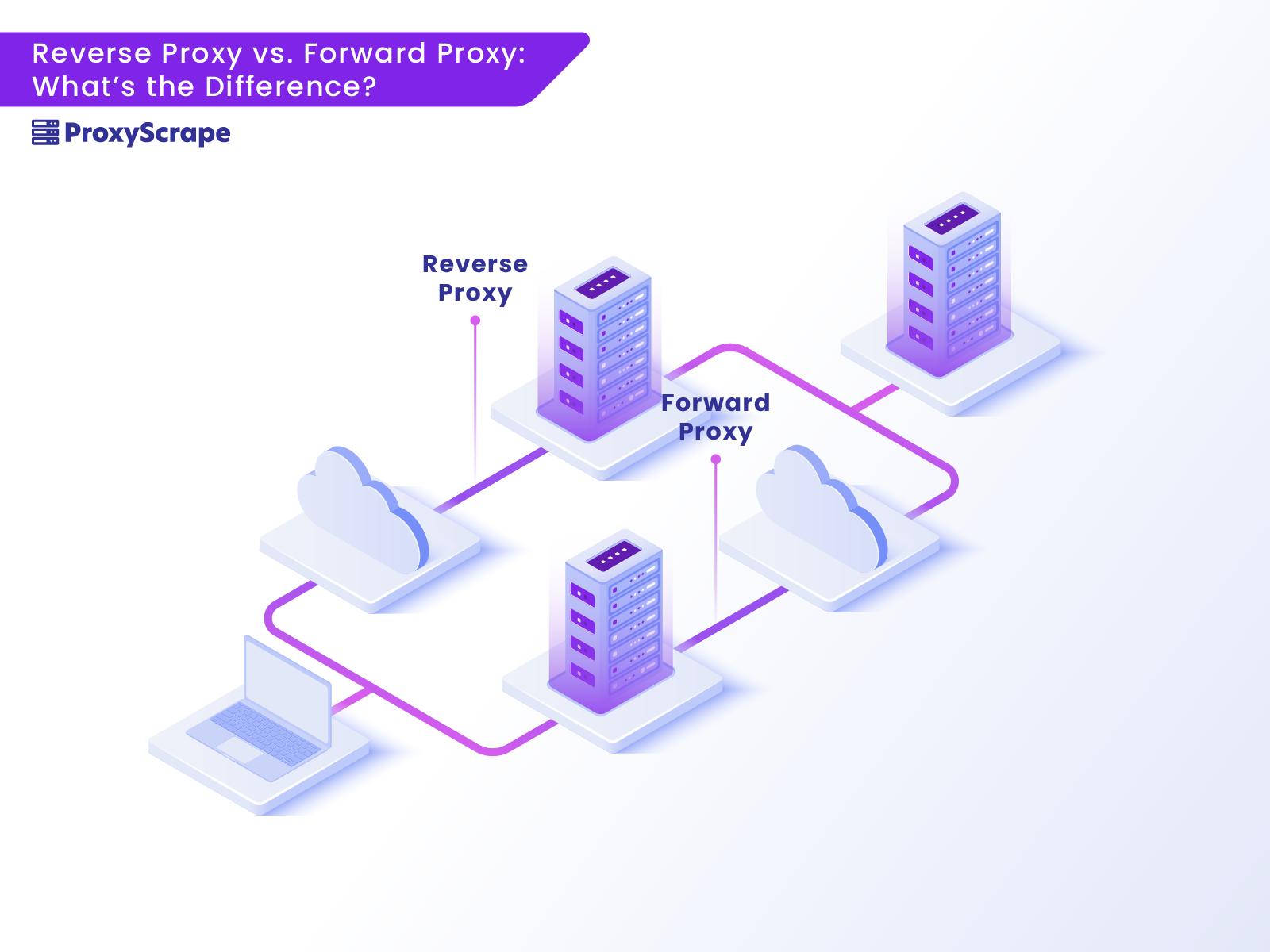 Reverse proxy vs forward proxy