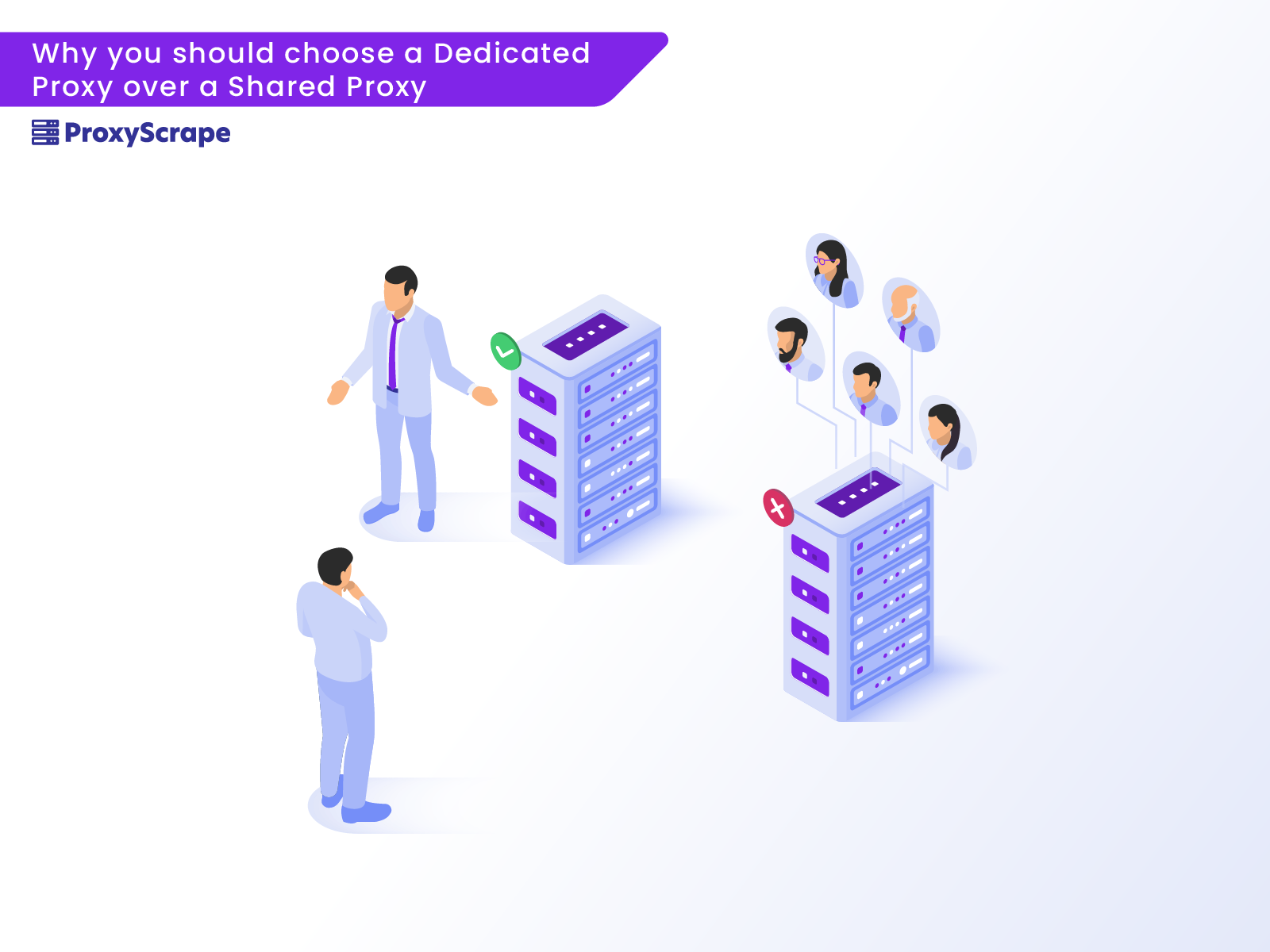Why you should choose a Dedicated Proxy over a Shared Proxy