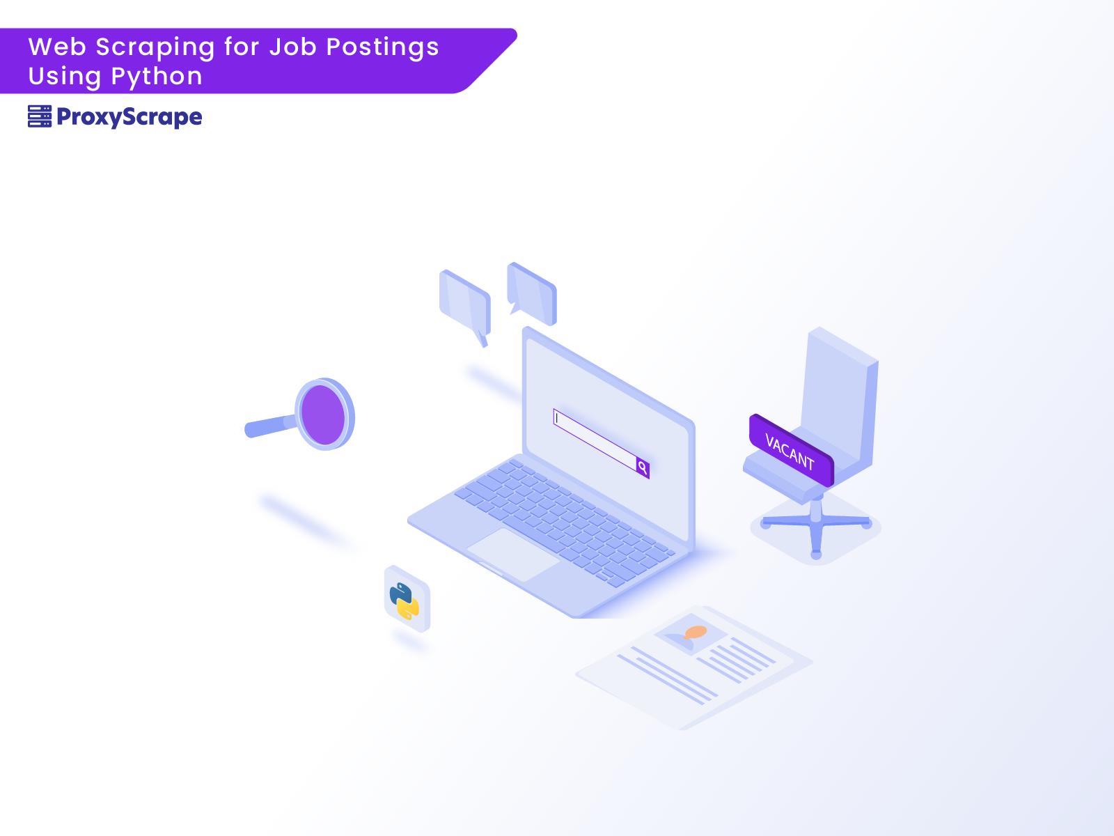 Web Scraping for Job Postings Using Python