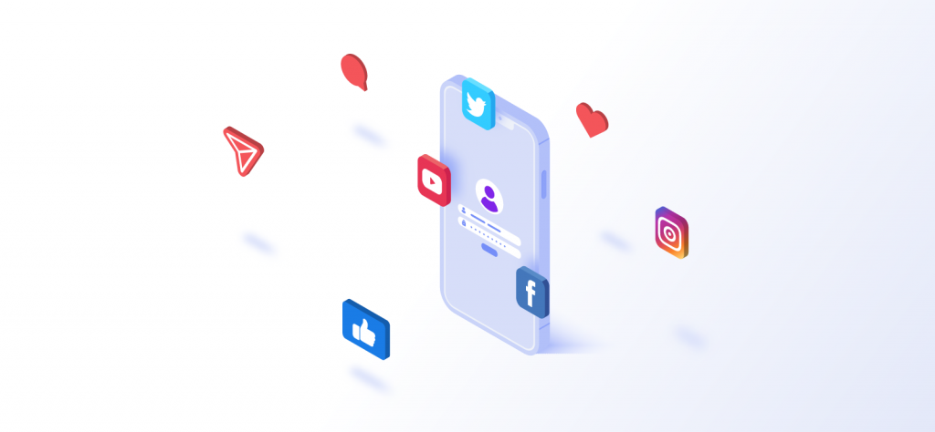 Why do marketers create multiple social media accounts