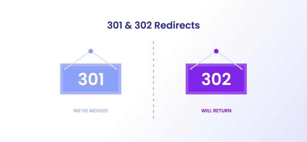 301 and 302 proxy error codes