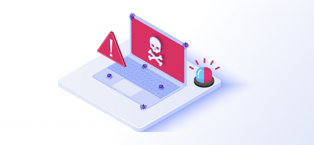 Maleware on laptop