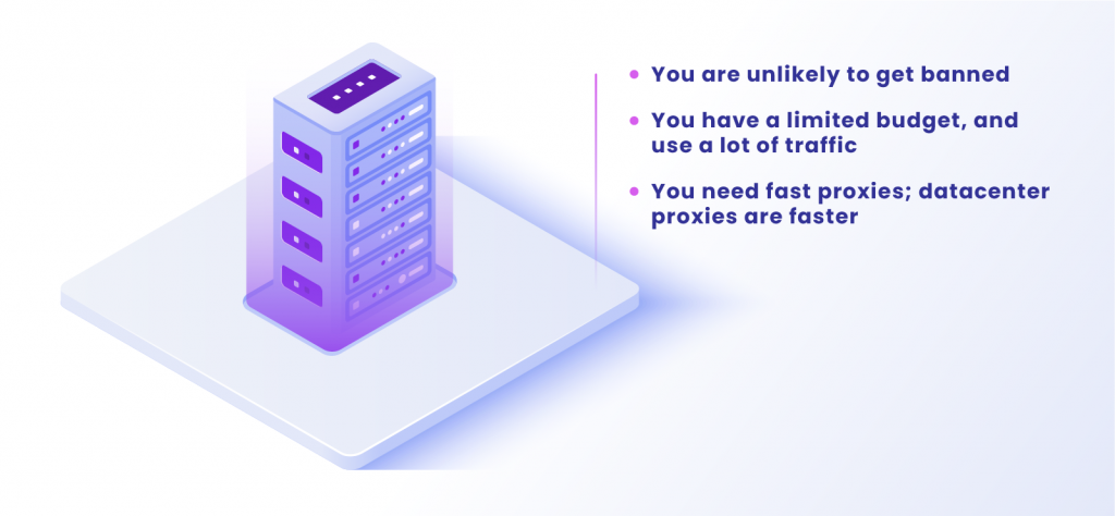 When you should choose datacenter proxies