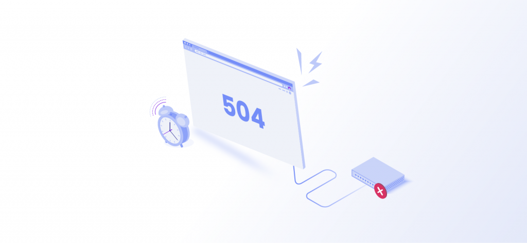 504 proxy error code