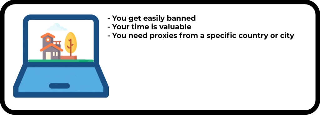 When you should use residential proxies